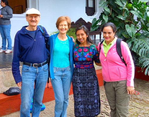 Ken Phillips, Vera Radyo,CasaSito scholarship studentAndrea Tamat, and Magda Lanuza